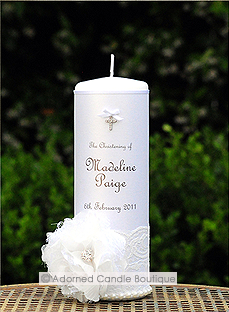 Angelic Dream Christening Candle